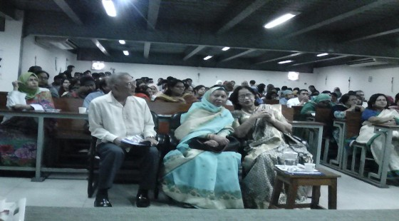 Section of audience at the seminar