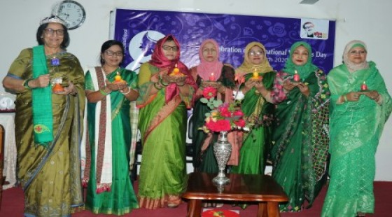 Respected senior faculty members of Green Life Medical college