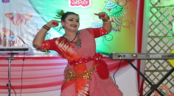 Dr. Moumita at her performance